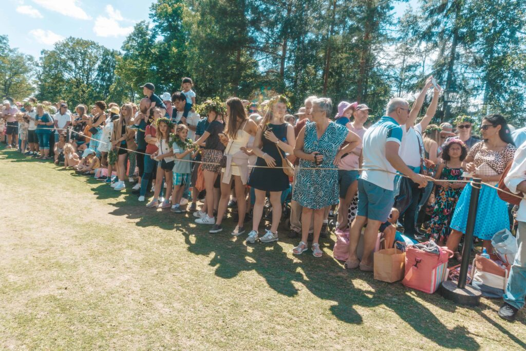 Karen Roldan - Midsummer Celebration in Sweden - People in Skansen