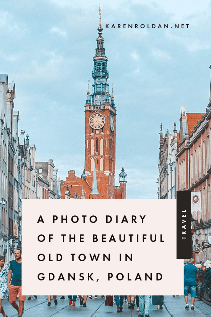 Gdansk, Poland is one of the most underrated cities in Europe. I wanted to visit Gdansk in autumn, but I knew I would enjoy it more during the summer.
