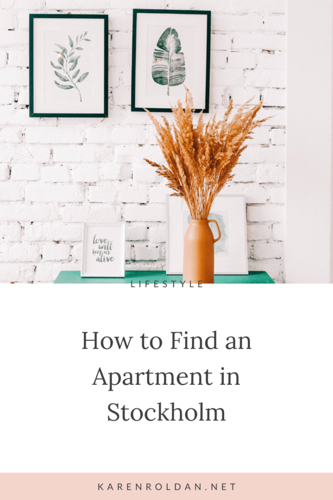 With the current housing shortage in Stockholm, finding an apartment can be a struggle and... these apartments are often expensive.   It took a lot of patience, applications, and rejections, but when you find one, it's worth the trouble!
