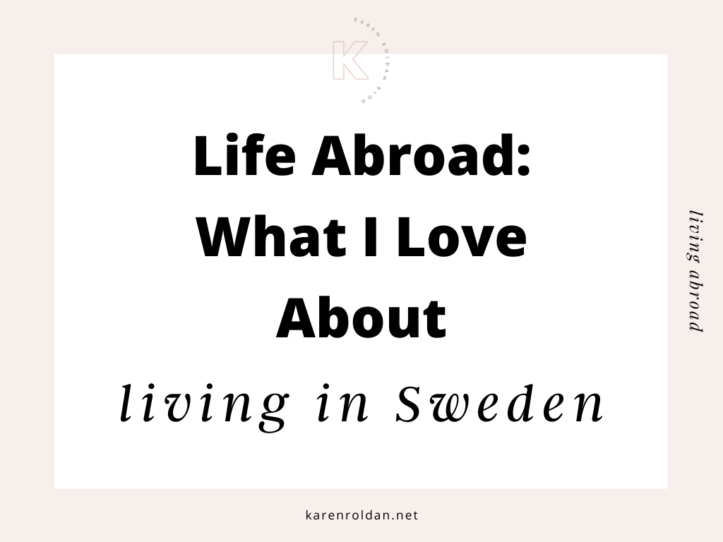 Living in Sweden