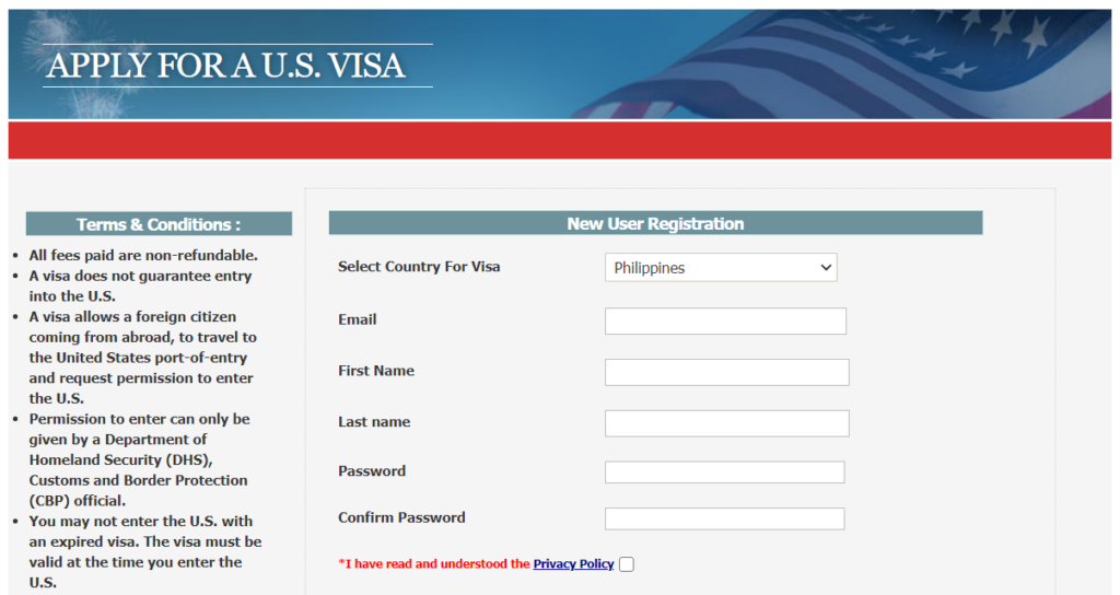 How to Apply for a US Tourist Visa for Philippine Passport Holders 3