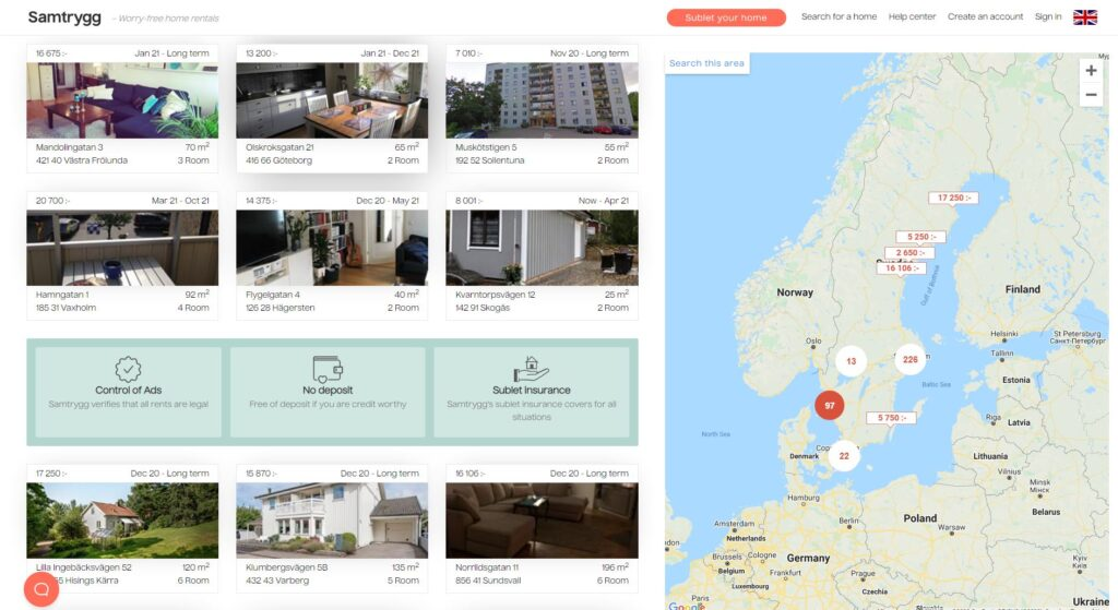 How to Find an Apartment For Rent in Stockholm 12